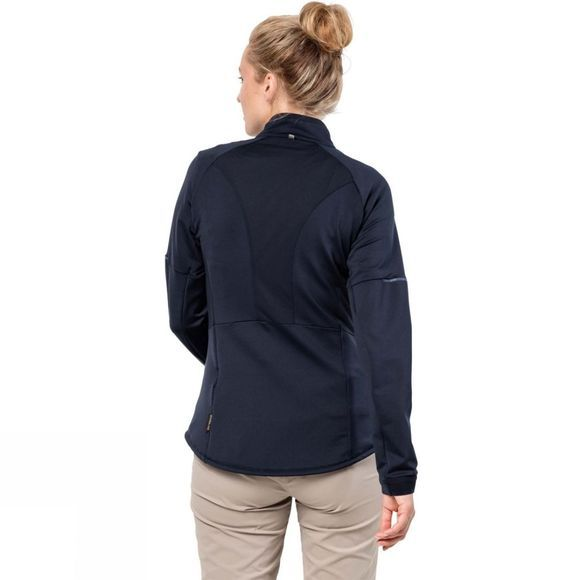 Jack Wolfskin Womens Gravity Trail Jacket Midnight Blue