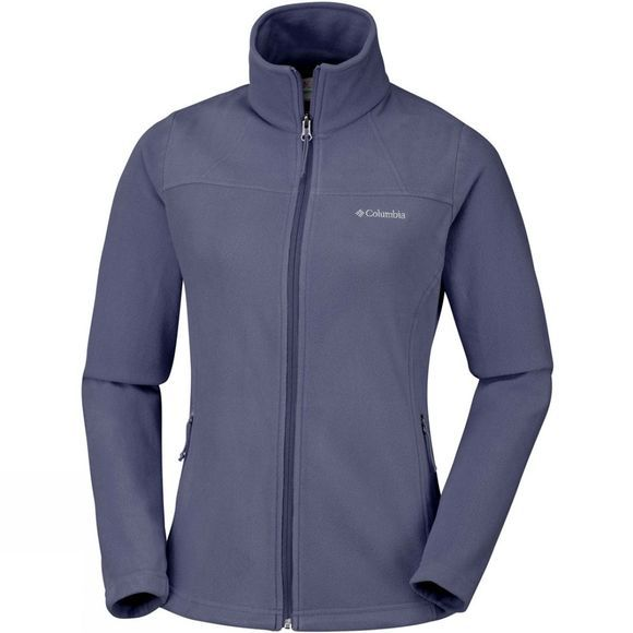 Columbia Womens Fast Trek Light Full Zip Top Nocturnal