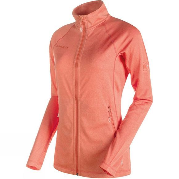 Mammut Womens Runbold Light ML Jacket Barberry Melange