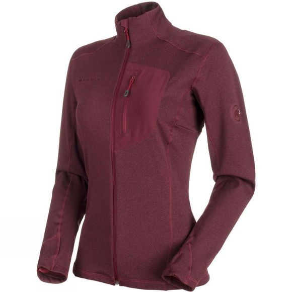 Mammut Womens Aconcagua Light ML Jacket Merlot Melange