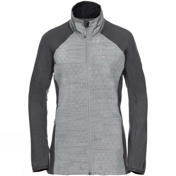 Vaude Womens Skarvan Fleece Jacket Pewter Grey