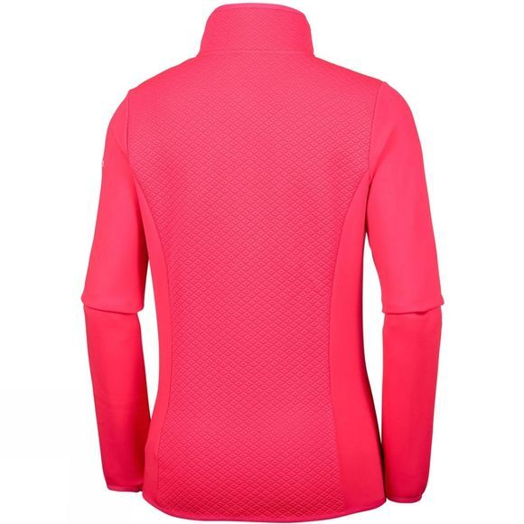 Columbia Womens Roffe Ridge Full Zip Fleece Pomegranate
