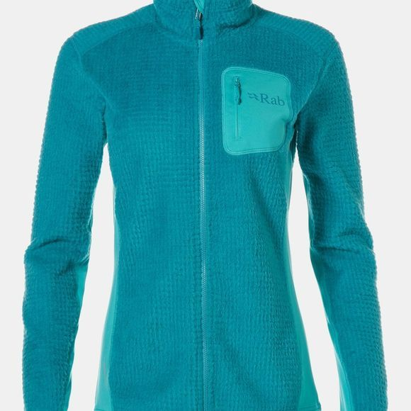 Rab Womens Alpha Flash Jacket Serenity / Seaglass