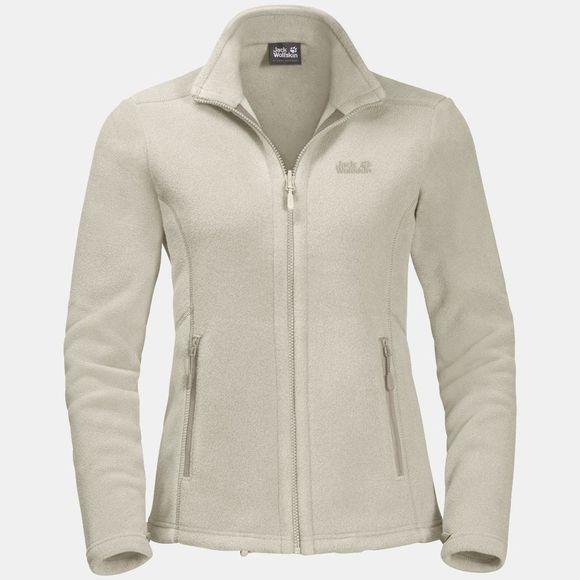 Jack Wolfskin Womens Moonrise Jacket White Sand