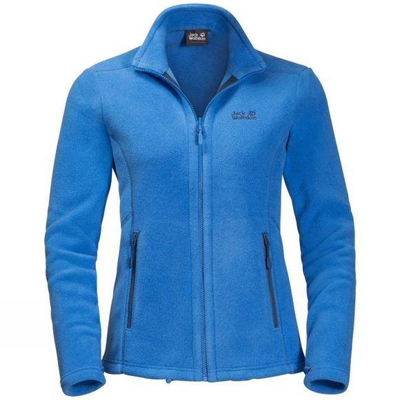 Jack Wolfskin Womens Moonrise Jacket Zircon Blue