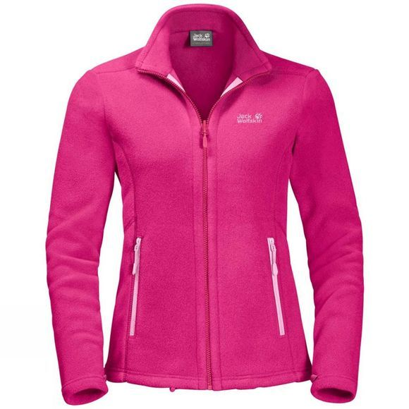 Jack Wolfskin Womens Moonrise Jacket Pink Peony