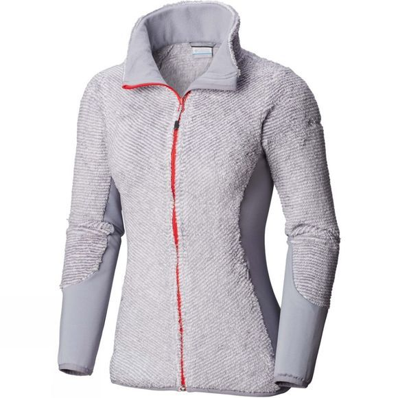 Columbia Womens Willow Falls Fleece Astral/ White Stripe
