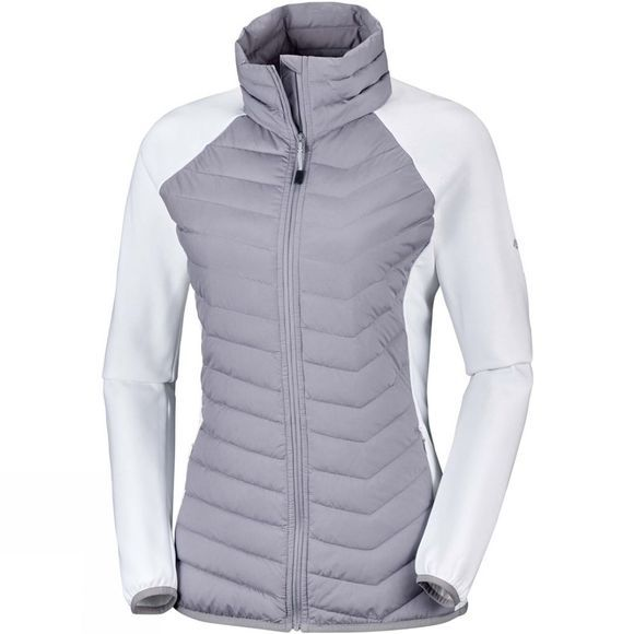 Columbia Womens Powder Lite Fleece Astral/ White