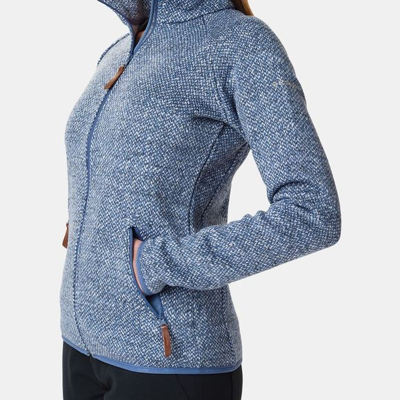 Columbia Womens Chillin Fleece Non Hooded Bluebell