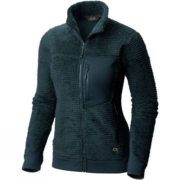 Mountain Hardwear Women's Monkey Fleece Jacket Blue Spruce