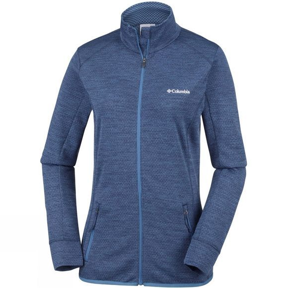 Columbia Womens Pine Hollow Full Zip Fleece Blue Dusk
