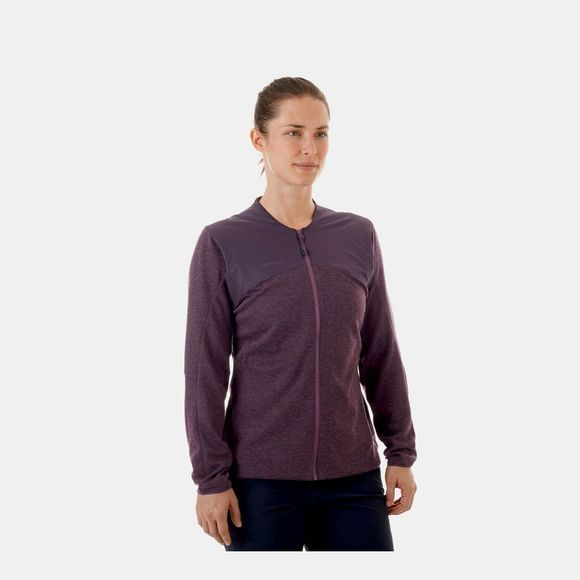 Mammut Womens Alvra ML Jacket  Galaxy Melange/Galaxy