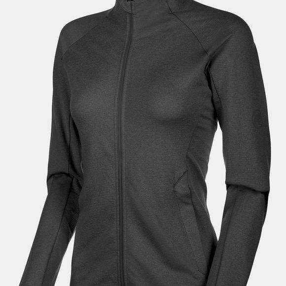 Mammut Womens Nair ML Jacket  Black Mélange