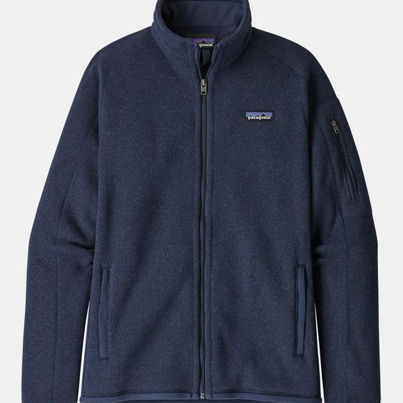 Patagonia Womens Better Sweater Jacket Neo Navy