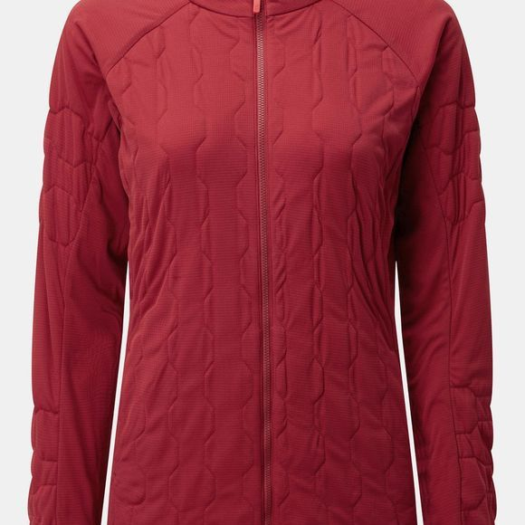 Rab Womens Paradox Light Jacket Crimson