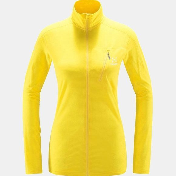 Haglofs Womens L.I.M Mid Jacket Signal yellow