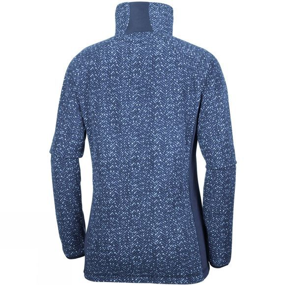 Columbia Women's Glacial Fleece III Print Half Zip Nocturnal Tweed