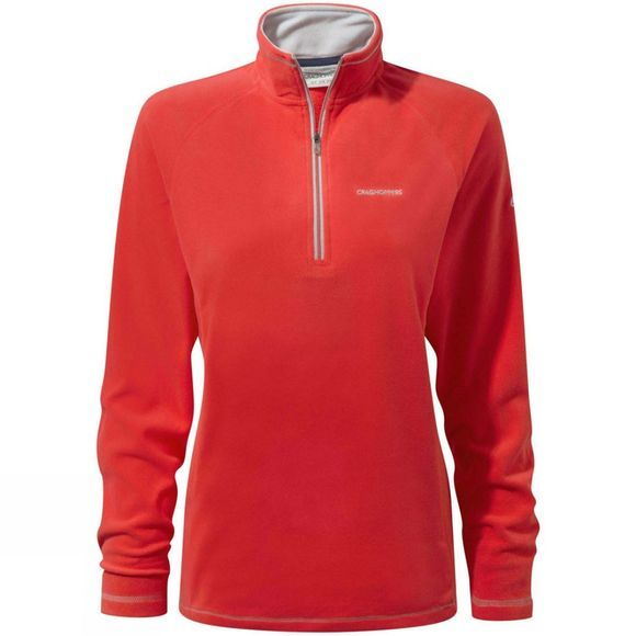 Craghoppers Womens Seline Half zip Venetian Red