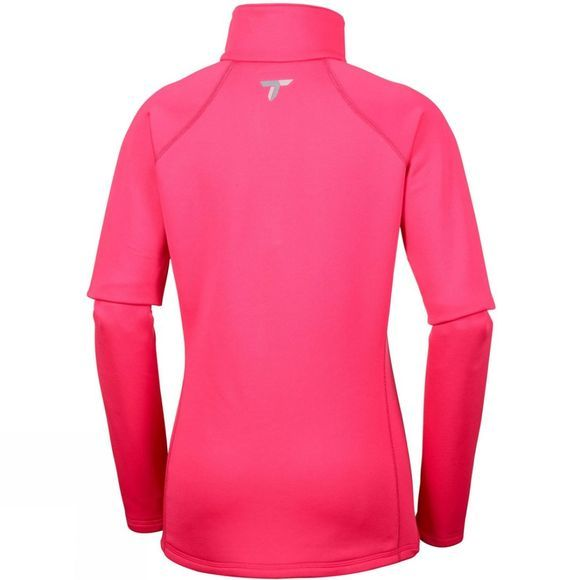 Columbia Womens Northern Ground Half Zip Fleece Punch Pink