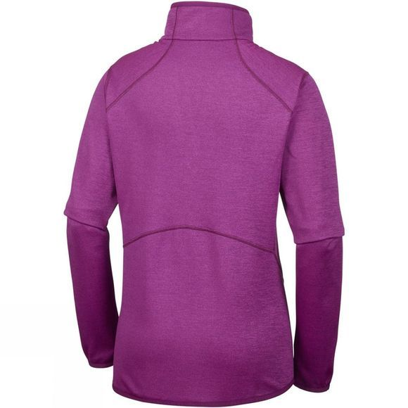 Columbia Womens Sapphire Trail Half Zip Fleece Deep Blush
