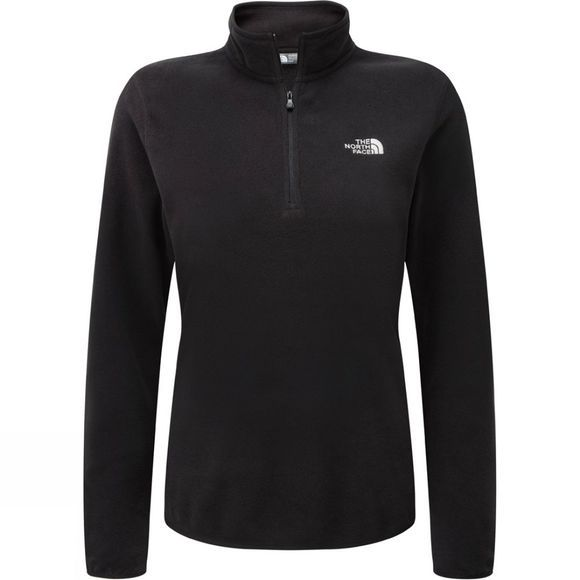 The North Face Womens Cornice 1/4 Zip Fleece TNF Black