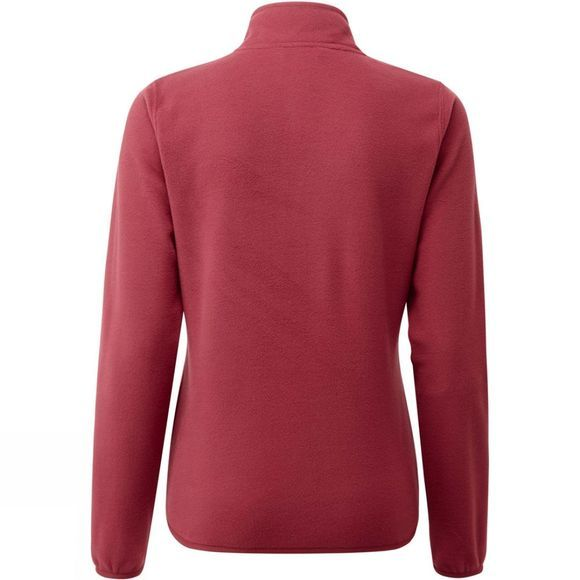 The North Face Womens Cornice 1/4 Zip Fleece Rumba Red