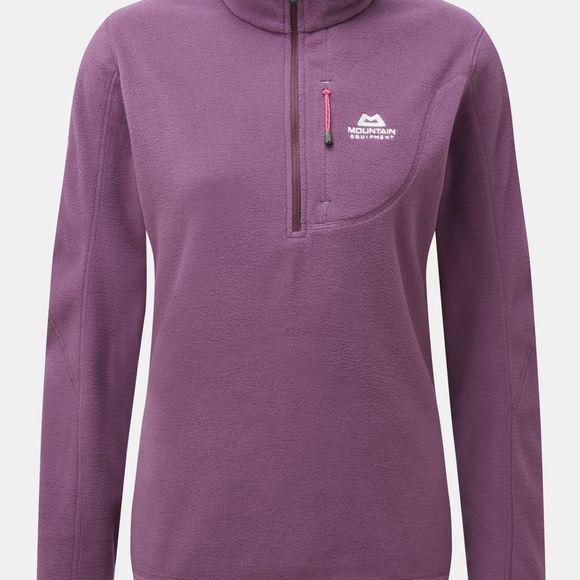 Mountain Equipment Micro Zip T-Shirt Men Lightweight Fleece Pullover for Black