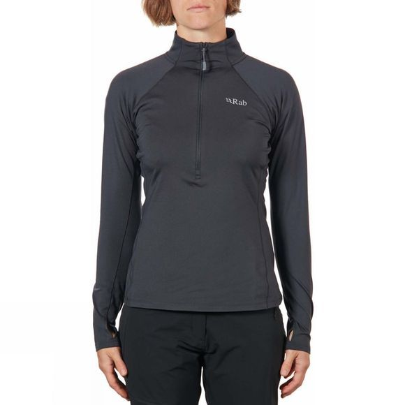 Rab Womens Flux Pull-On Fleece Beluga