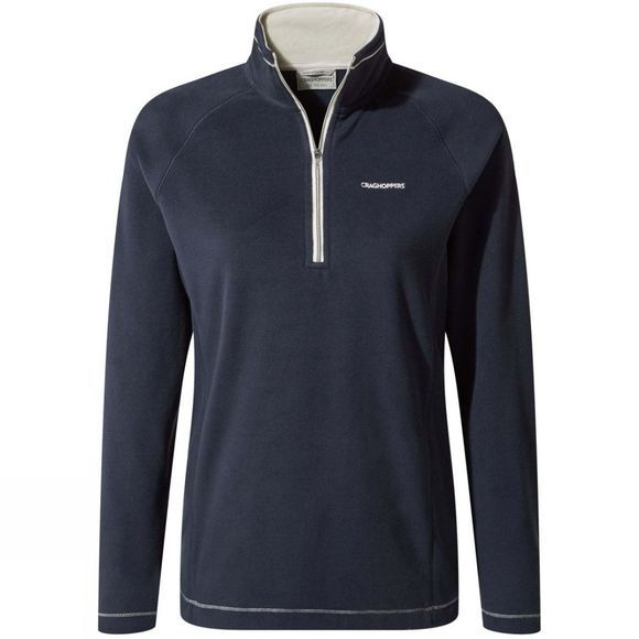 Craghoppers Womens Miska Half Zip Fleece Blue Navy