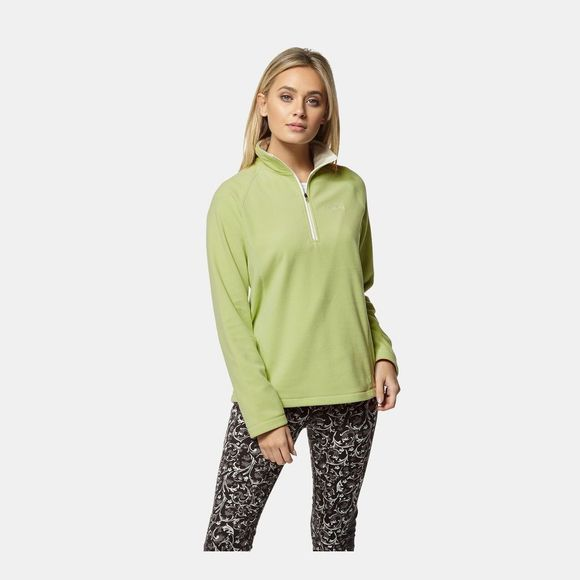 Craghoppers Womens Miska Half Zip Fleece Green Apple