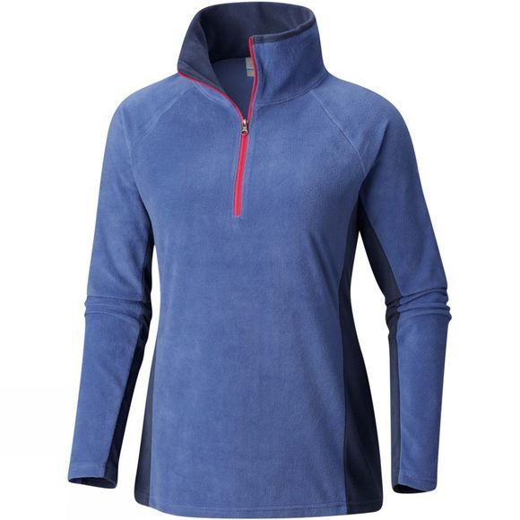 Columbia Womens Glacial IV 1/2 Zip Eve/ Nocturnal