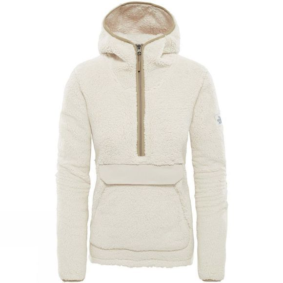 The North Face Womens Campshire Pullover Hoodie Vintage Whte/Peyote Beige