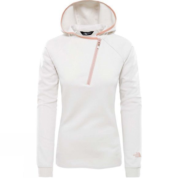 The North Face Womens Vista Tek 1/2 Zip Hood Moonlight Ivory