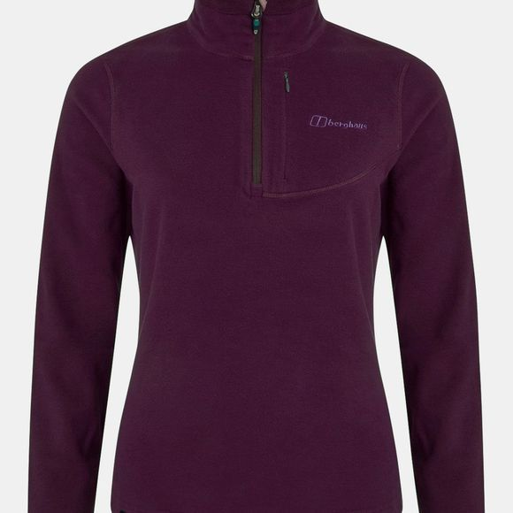 Berghaus Womens Prism Micro PT Half Zip Fleece Winter Bloom