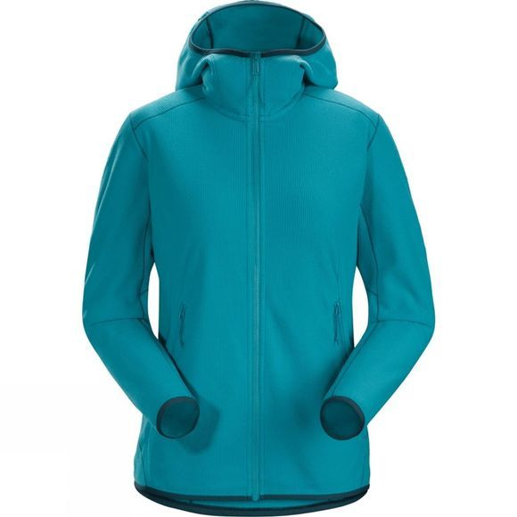 Arc'teryx Womens Delta Lighweight Hoody Firoza