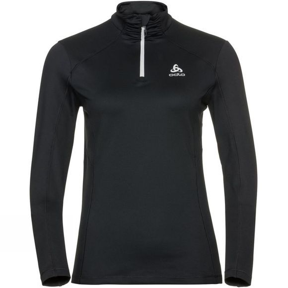 Odlo Womens Steeze Half Zip Midlayer Black