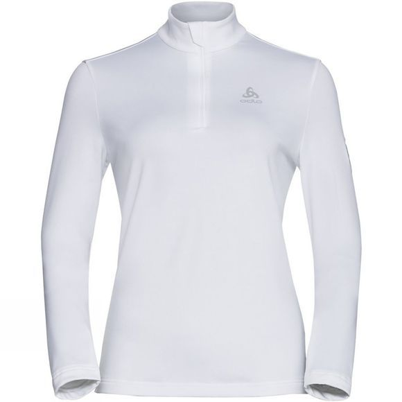 Odlo Womens New Cavradi Half Zip Midlayer White
