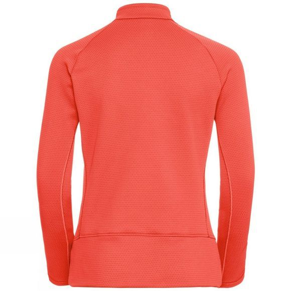 Odlo Womens Inyo Half Zip Hot Coral