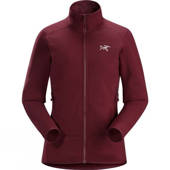 Arc'teryx Womens Kyanite Polartec Powerstretch Jacket Crimson