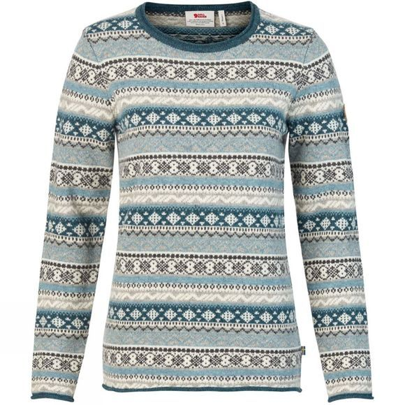 Womens Övik Folk Knit Sweater