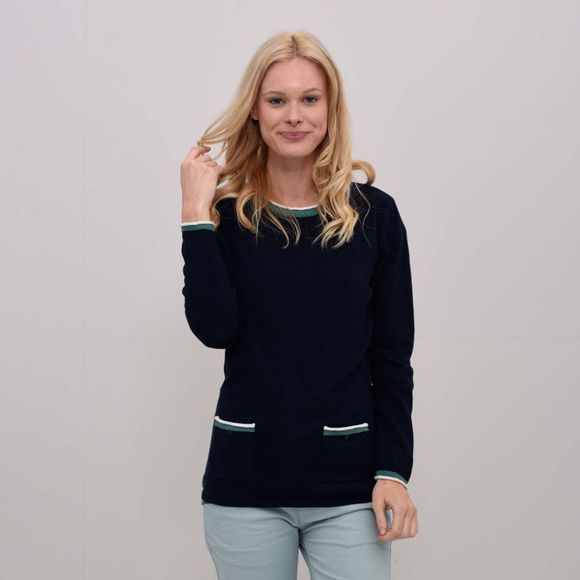 Womens Patch Pocket Jumper