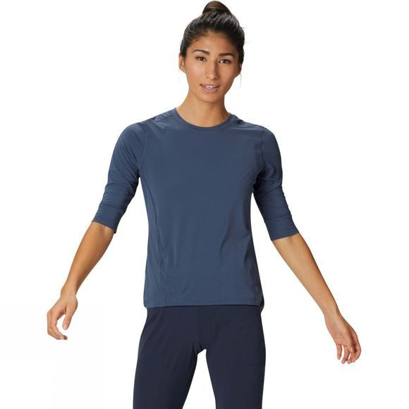 Mountain Hardwear Women's Crater Lake 3/4 Crew  Zinc