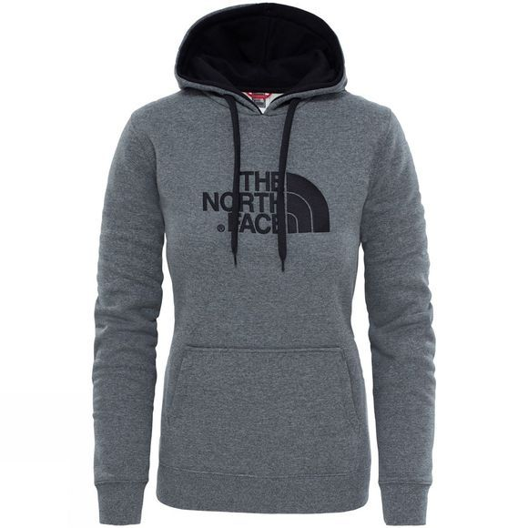 The North Face Womens Drew Peak Pullover Hoodie TNF Medium Grey Heather