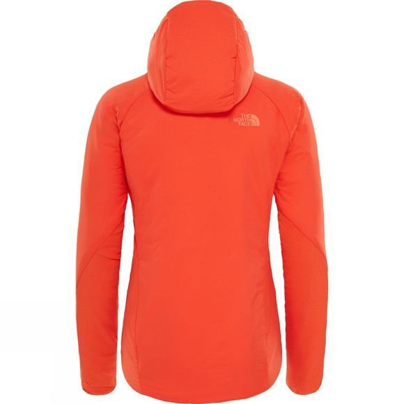 The North Face Womens Ventrix Hoodie Firebrick Red/ Nasturtium Orange