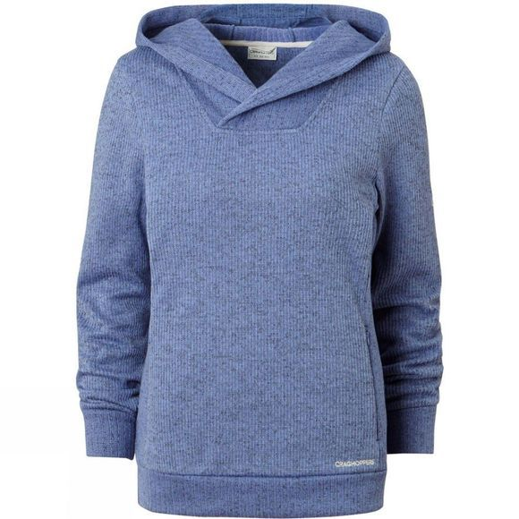 Craghoppers Womens Callins Hood Top China Blue Marl