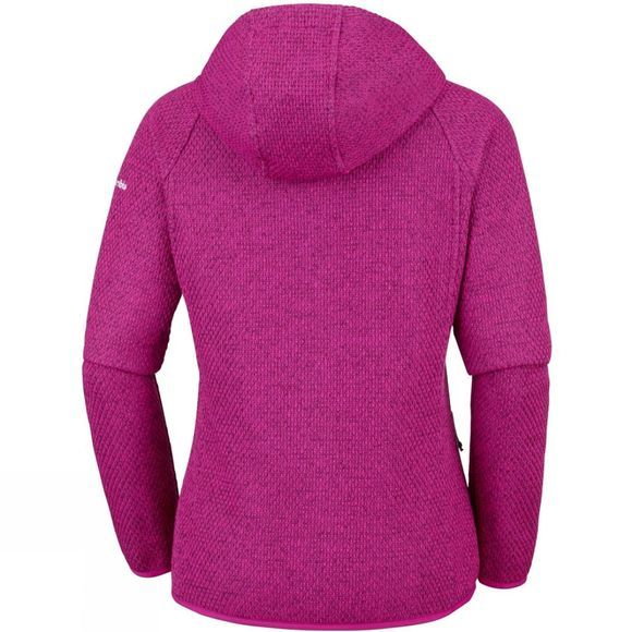 Columbia Womens Pacific Point Full Zip Hoodie Haute Pink