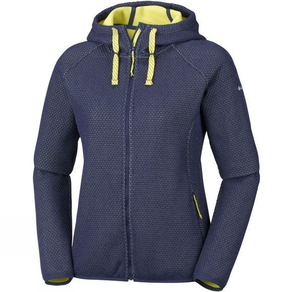Columbia Womens Pacific Point Full Zip Hoodie Nocturnal