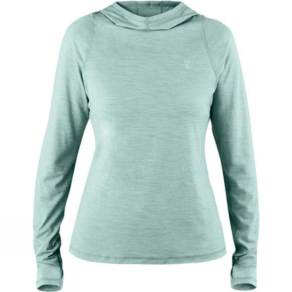 Fjallraven Womens High Coast Lite Hoodie Ocean Mist