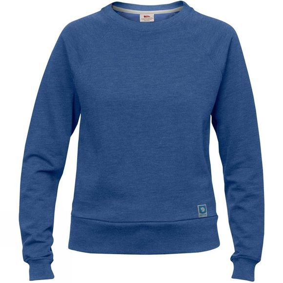 Fjallraven Womens Greenland Sweater Deep Blue