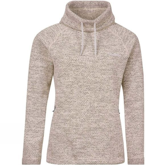 Berghaus Womens Canvey Fleece Jet Black/Silver Birch